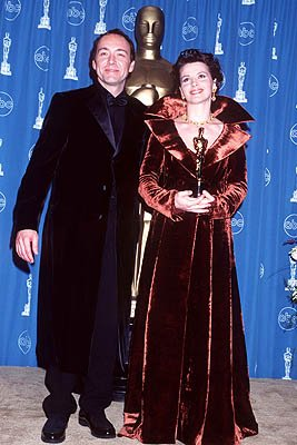 Kevin Spacey and Juliette Binoche 69th Annual Academy Awards Los Angeles, CA 3/24/1997