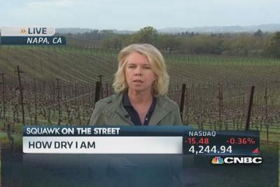 California drought hits Napa