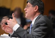 Former White House chief of staff Jack Lew testifies before the Senate Finance Committee on his nomination to be treasury secretary on February 13, 2013 in in Washington, DC. Lew was confirmed Wednesday as treasury secretary, taking over a key portfolio at a time of deadlock over the budget and debt