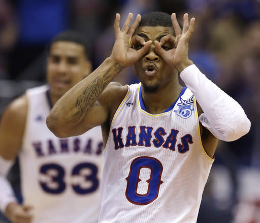 Jayhawks close to wrapping up 11th straight Big 12 title