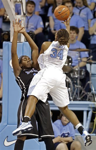 No. 5 Duke women roll past No. 11 UNC 84-63