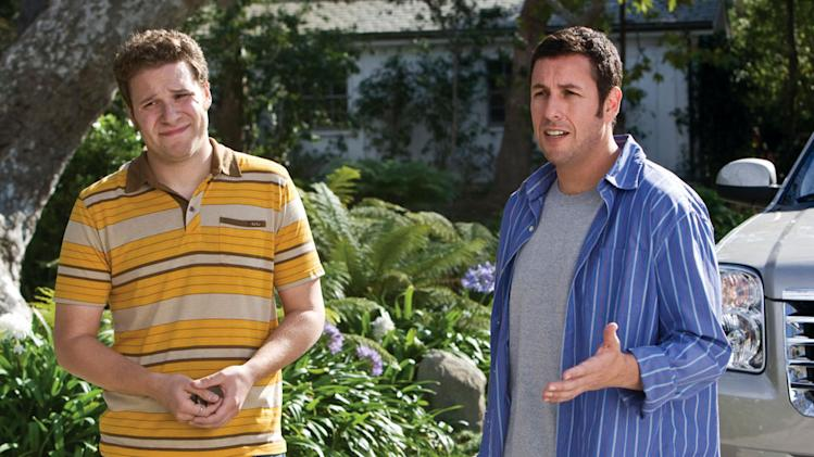 Seth Rogen Adam Sandler Funny People Production Stills Universal 2009