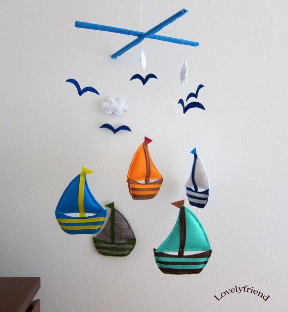 Sailboats Mobile