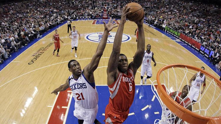 Wroten's triple-double leads 76ers over Rockets