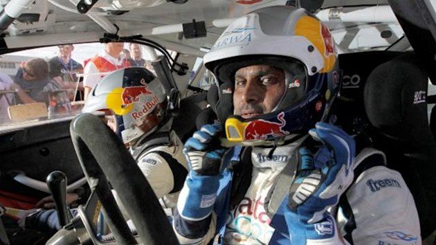 Al Attiyah de bon Hummer