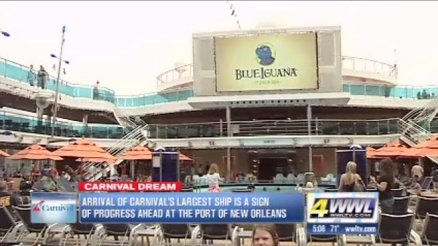 Carnival Dream becomes N.O.'s largest cruise ship
