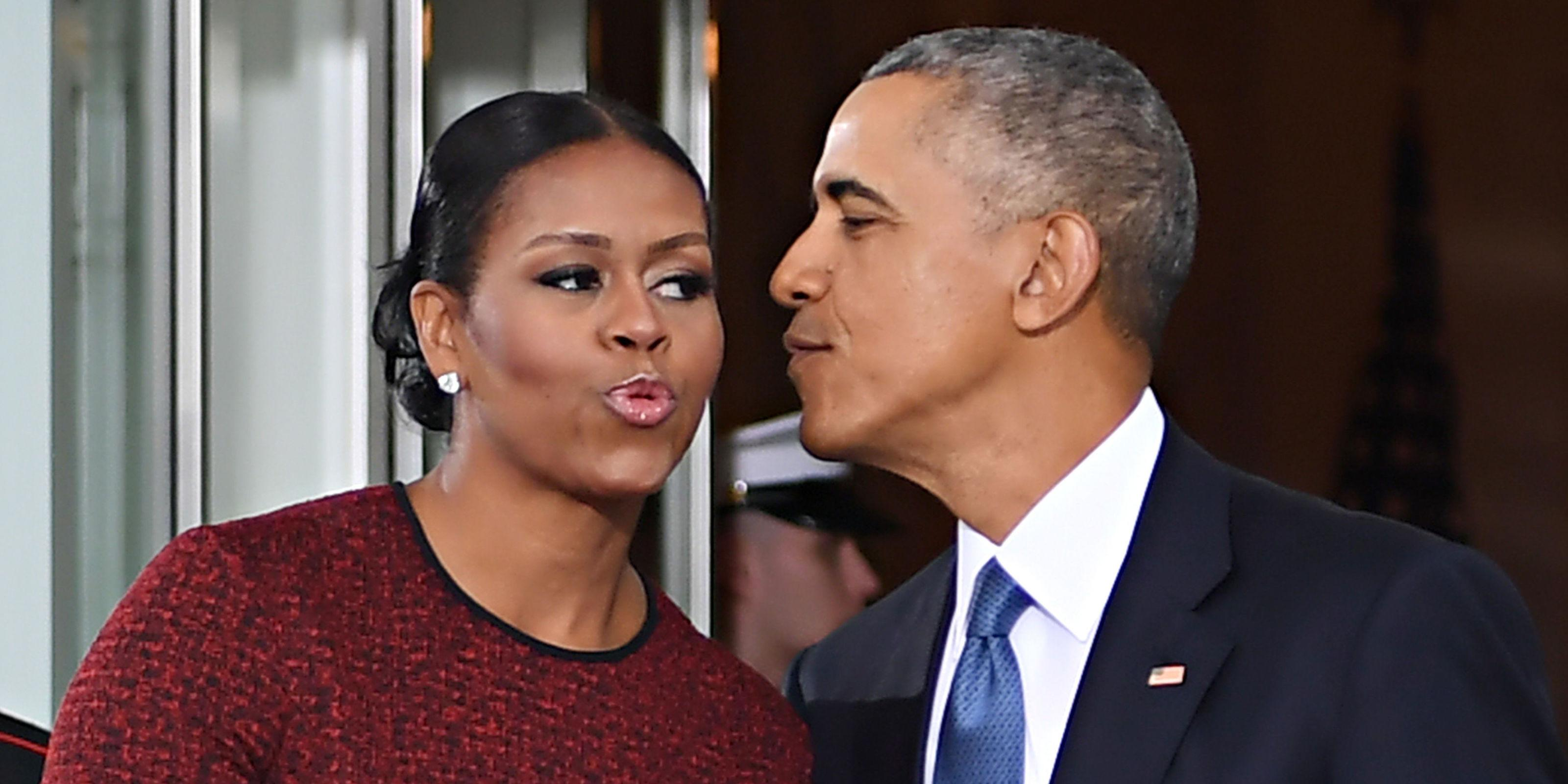 Barack and Michelle Obama Pop In to Say They Haven't Gone Anywhere