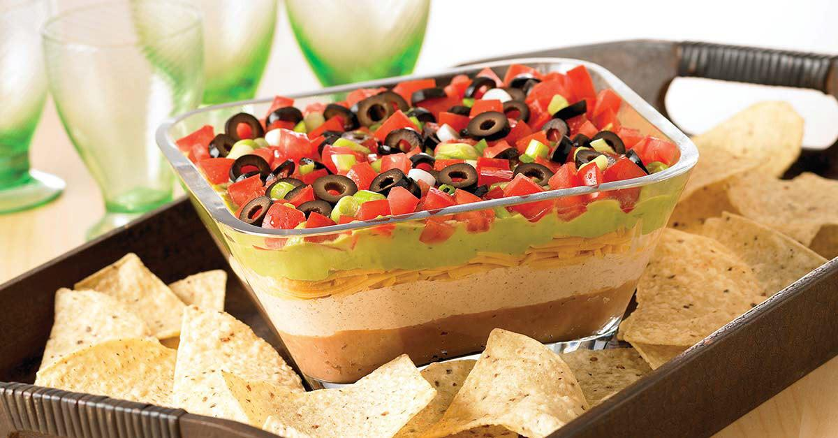 7-Layer Fiesta Dip Recipe