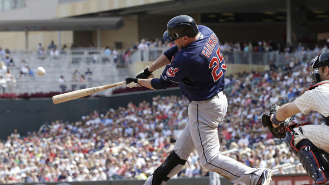 Indians rally to beat Twins in 12 innings