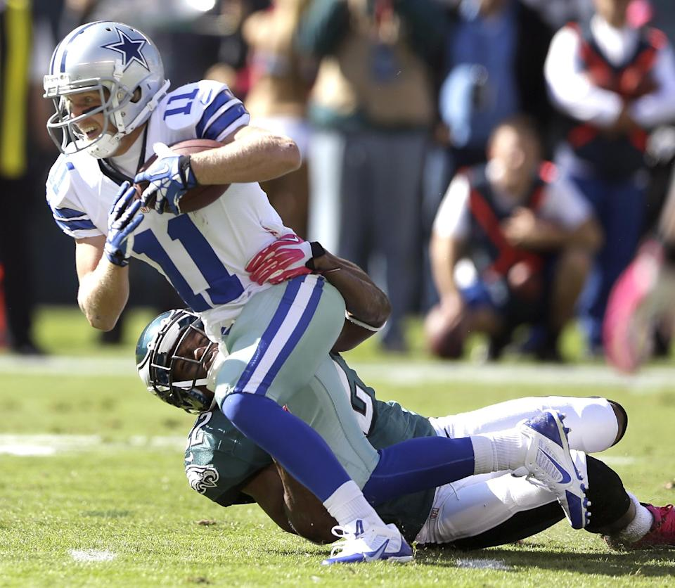 Banged-up Cowboys beat up Eagles 17-3