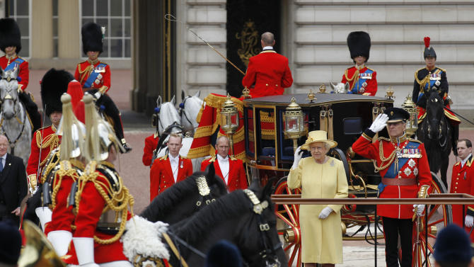UK queen set for income boost after record profits