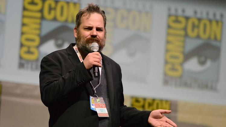 "Dan Harmon, creator and executive producer, attends the ""Community"" panel on Day 5 of Comic-Con International on Sunday, July 21, 2013, in San Diego. (Photo by Jordan Strauss/Invision/AP)"
