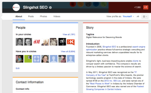 New Google+ Profile Layout: What You Need To Know image Screen Shot 2013 03 06 at 7.00.36 PM