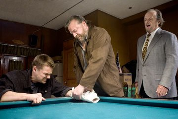 Leonardo DiCaprio , Ray Winstone and Jack Nicholson in Warner Bros. Pictures' The Departed