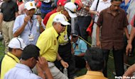 Najib to tee off with golf legend Tiger Woods