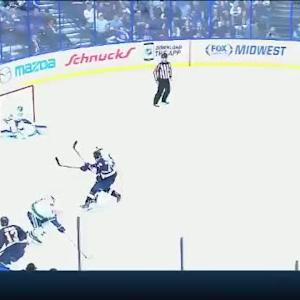 Eddie Lack Save on Olli Jokinen (05:10/2nd)