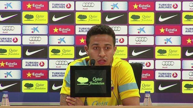Thiago dismisses rumours and speculation