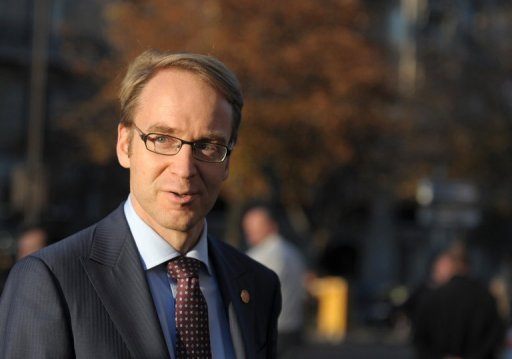<p>German Central Bank Governor Jens Weidmann, has threatened to resign in the festering fight with the European Central Bank over its anti-crisis measures, the daily Bild reported Friday.</p>