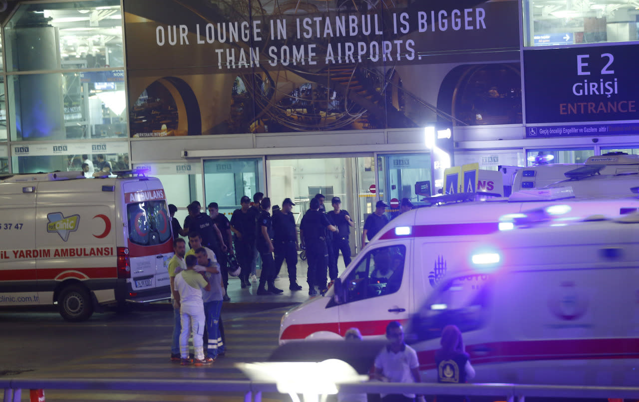 Deadly attack at Istanbul's Ataturk Airport