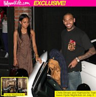 Chris Brown & Karrueche Tran Show Major PDA On Sexy Club Date