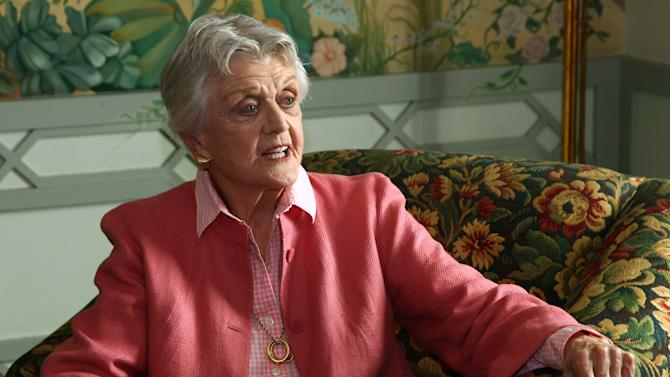 "Actor Angela Lansbury poses for photos in Sydney, Australia, Monday, Jan. 7, 2013. Lansbury and James Earl Jones, in Australia to star in a touring production of Alfred Uhry's Pulitzer-Prize winning play ""Driving Miss Daisy,"" credit the thrill of performing with their seemingly endless supply of energy, which has propelled them throughout their decades-long careers. (AP Photo/Rick Rycroft)"