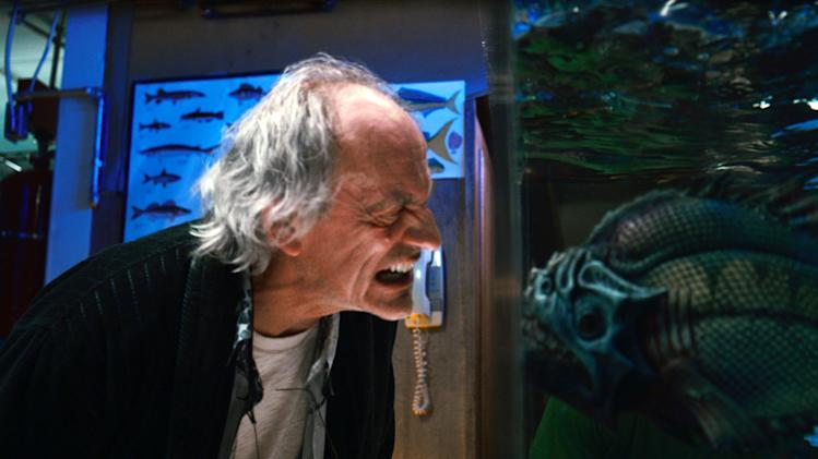 "This film image released by The Weinstein Company shows Christopher Lloyd in a scene from ""Piranha 3DD."" (AP Photo/The Weinstein Company)"