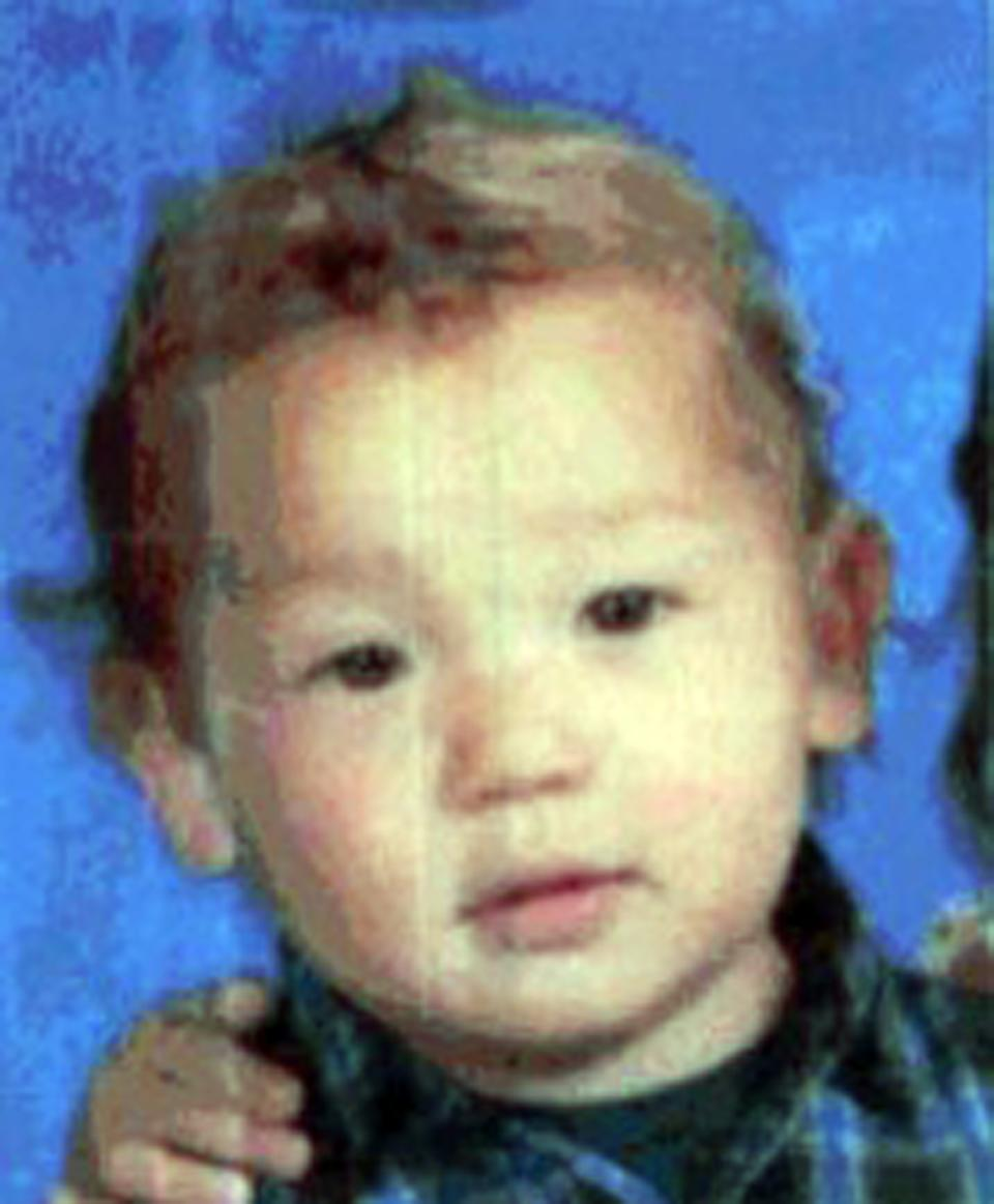This image provided by the South San Francisco Police Department shows Devin Maffei, 2, who was rescued from a sailboat Sept. 7, 2012 after being abducted by their father, Christopher Maffei, in California.(AP Photo/South San Francisco Police Department)