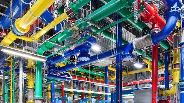 Inside Google's mystifyingly beautiful data centres