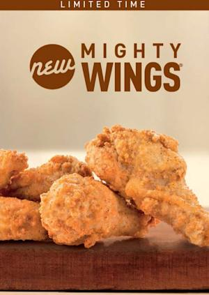 McDonald's expands test flight for chicken wings