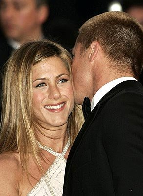 Jennifer Aniston and Brad Pitt Troy Cannes Film Festival - 5/13/2004