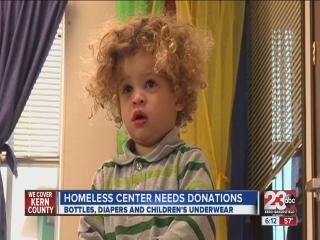 Bakersfield homless center needs items for children