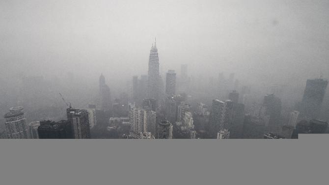 Air quality in Malaysia's capital Kuala Lumpur reaches 'very unhealthy' levels as acrid smoke billowing from Indonesian agricultural fires intensifies