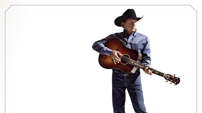 """This CD cover image released by MCA Nashville shows """"Love is Everything,"""" by George Strait. (AP Photo/MCA Nashville)"""