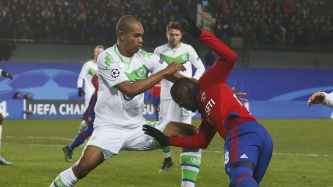 CSKA Moscow v VfL Wolfsburg - Champions League Group Stage