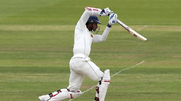 Kumar Sangakarra was eventually dismissed for 139
