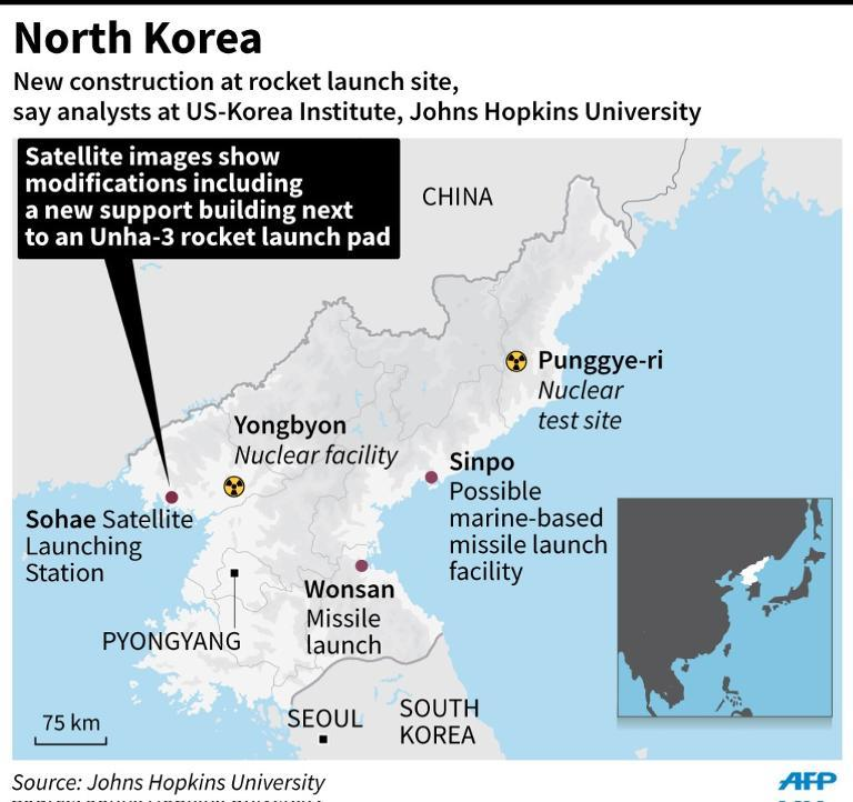 Fresh upgrades at N. Korea rocket site: US think-tank