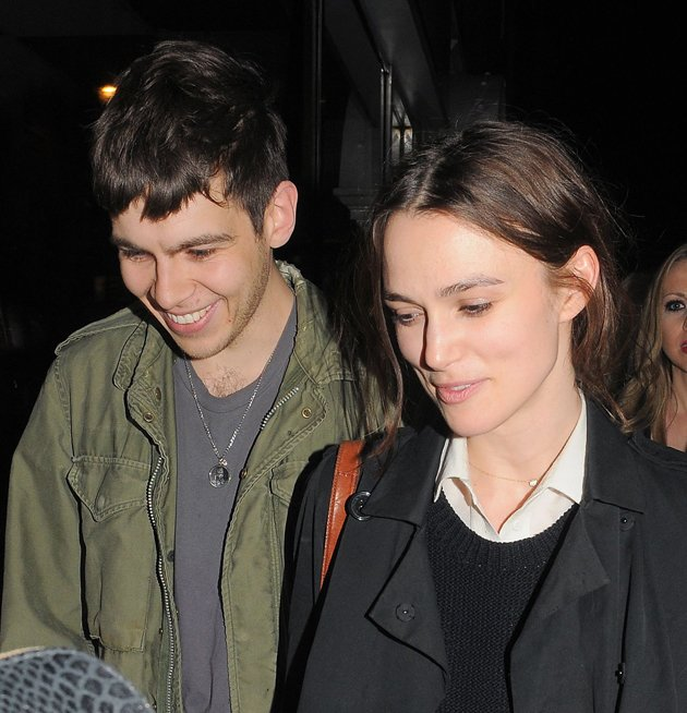 Keira Knightley, James Righton, engaged
