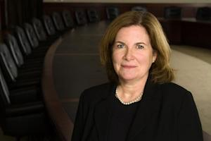 Handout photo of Kansas City Federal Reserve Bank President Esther George