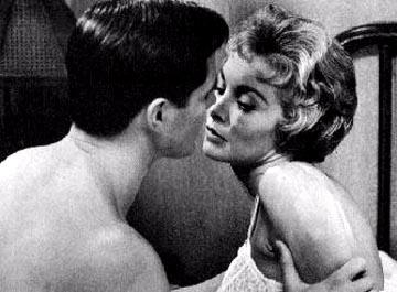 John Gavin and Janet Leigh in Paramount's Psycho