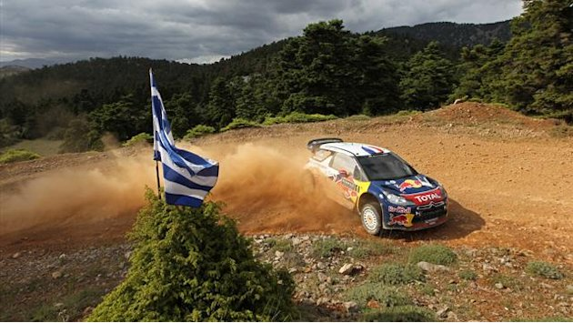 Loeb gewinnt Rallye-Akropolis