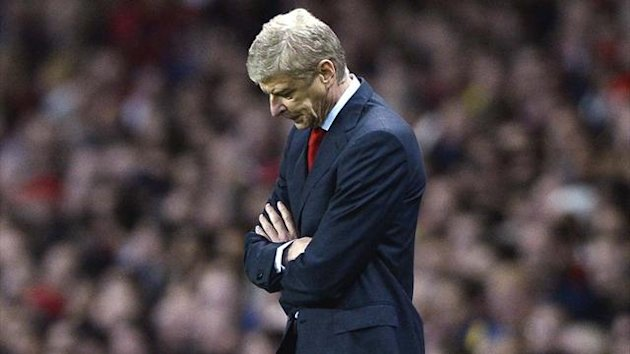 Arsenal manager Arsene Wenger during his side's 2-1 Champions League defeat to Borussia Dortmund (Reuters)
