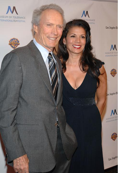 Clint Eastwood and Dina Ruiz