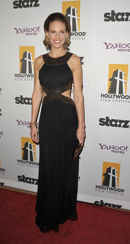13th Annual Hollywood Awards Gala 2009 Hilary Swank