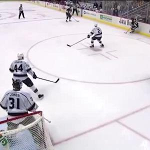 Chris Kunitz Goal on Martin Jones (09:16/1st)