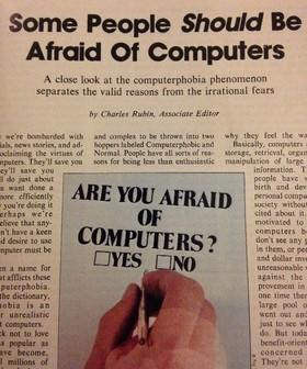 When People Feared Computers