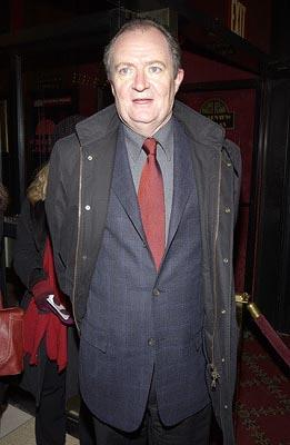 Jim Broadbent at the New York premiere of Miramax's Gangs of New York