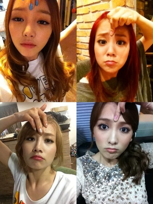 Kara members' new funny photos disclosed