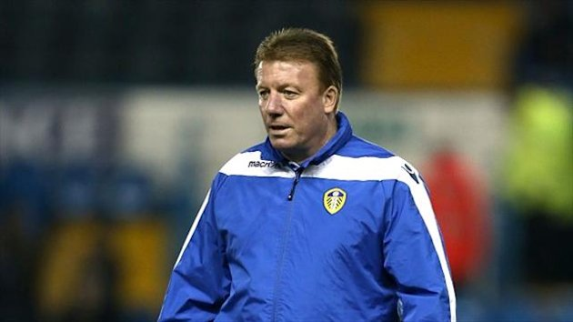 Bury assistant Ronnie Jepson, formerly of Leeds