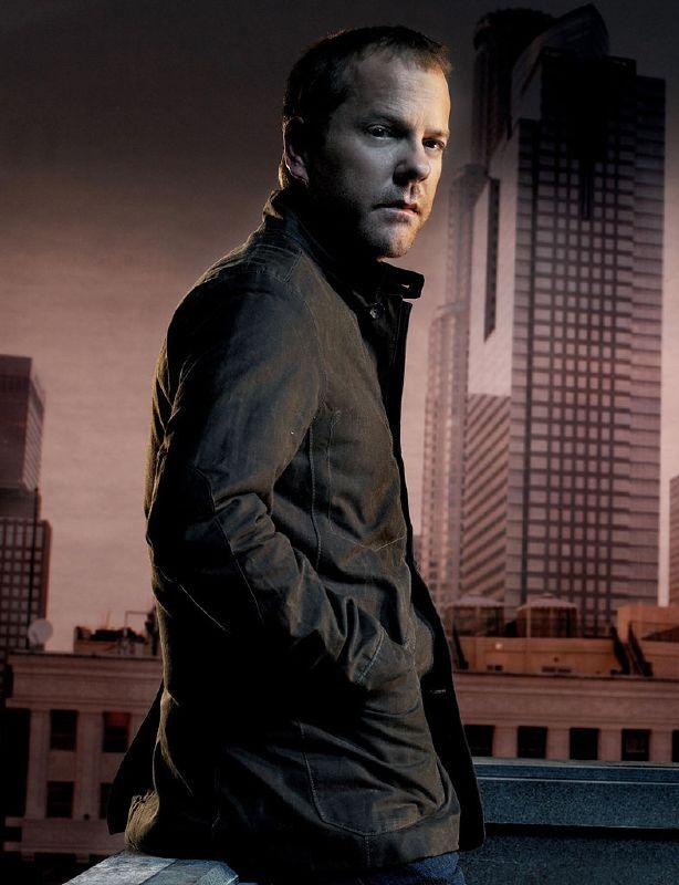 Kiefer Sutherland receives a Best Actor (Drama) Golden Globe nomination for his role as Jack Bauer on 24.