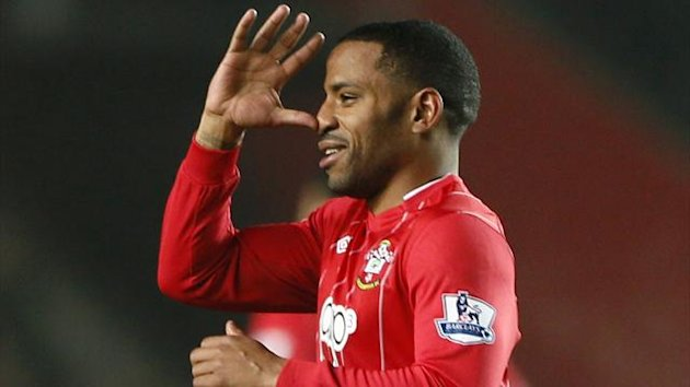 Southampton's Jason Puncheon celebrates after scoring against Manchester City